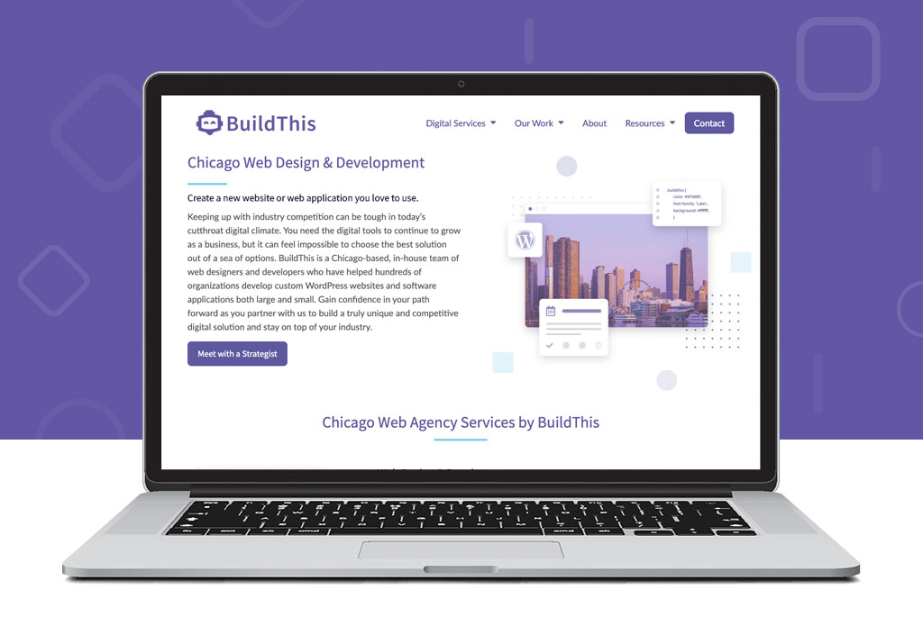 New BuildThis Website Design